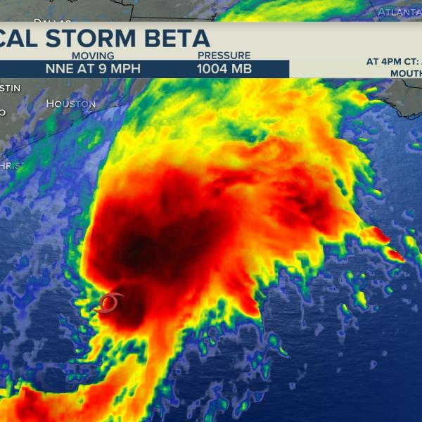 Tropical Storm Beta