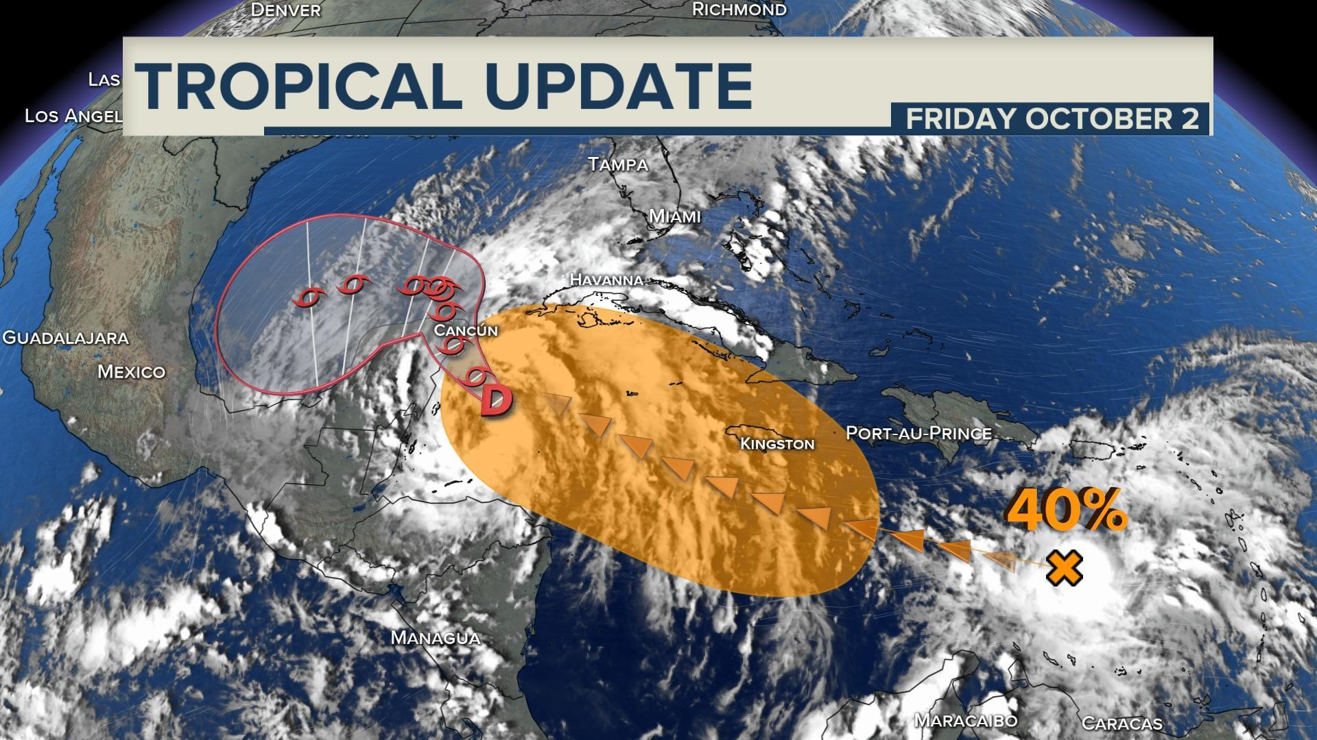 Oct Tropical Update
