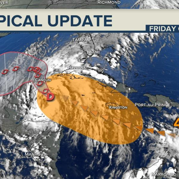 Oct Tropical Update