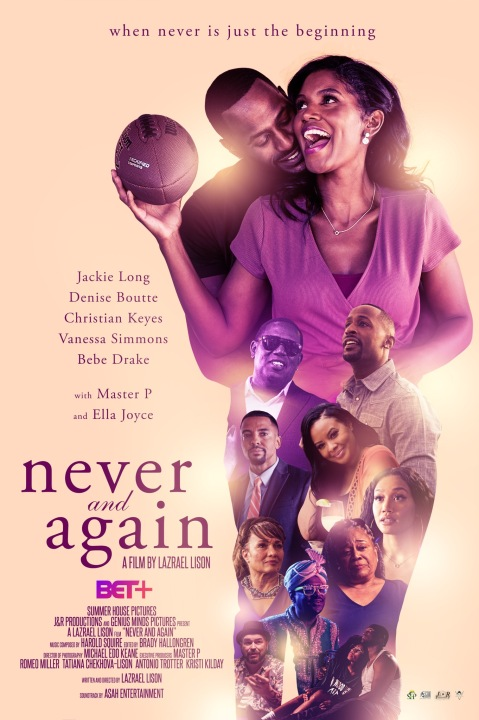 """Never and Again"" movie poster"