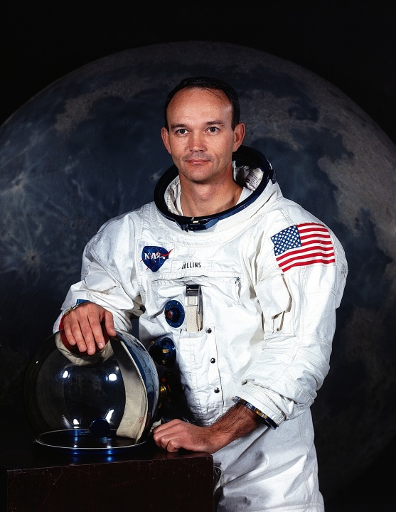 Apollo 11 astronaut Michael Collins