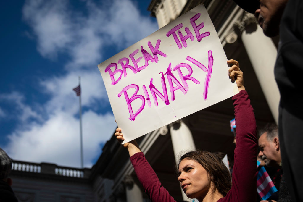 Binary meaning non transgender A guide