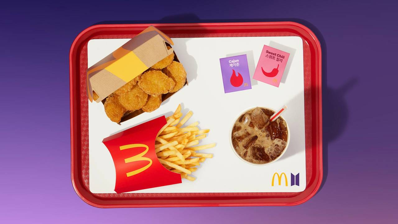 McDonald's launches BTS meal with spicy dipping sauces and Chicken  McNuggets - Verve times